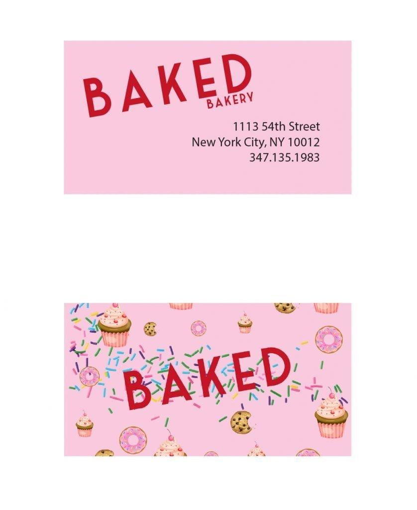 student branding business card
