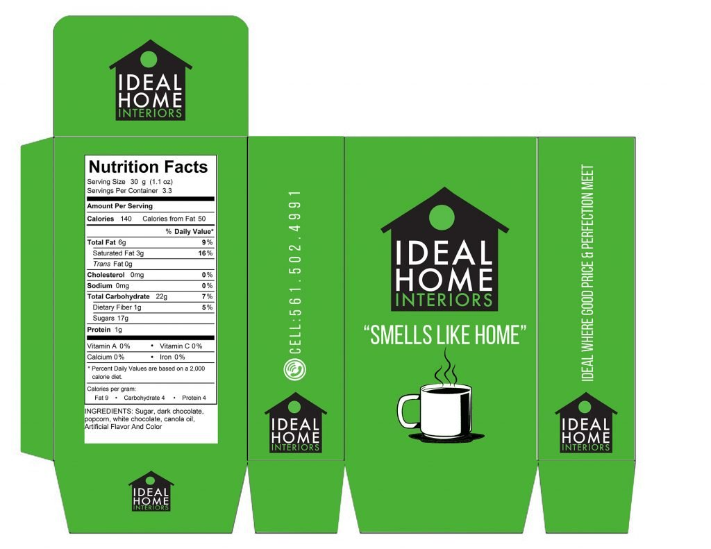 design student's coffee package design