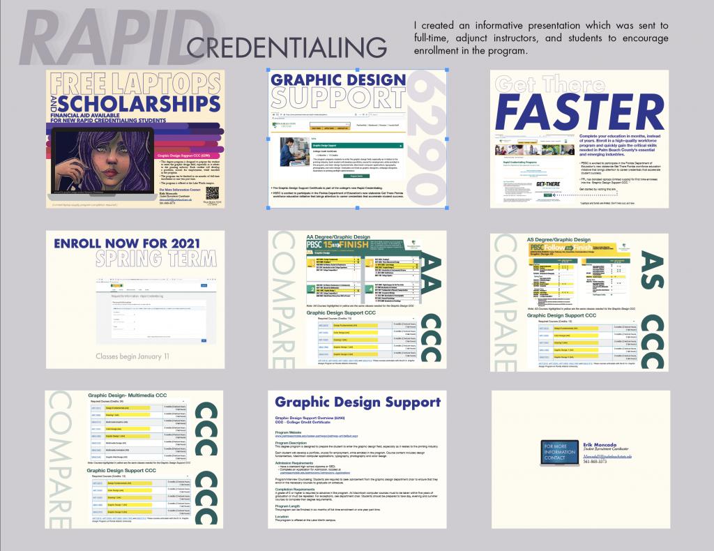 professor Victoria Martin rapid credentialing packet PBSC